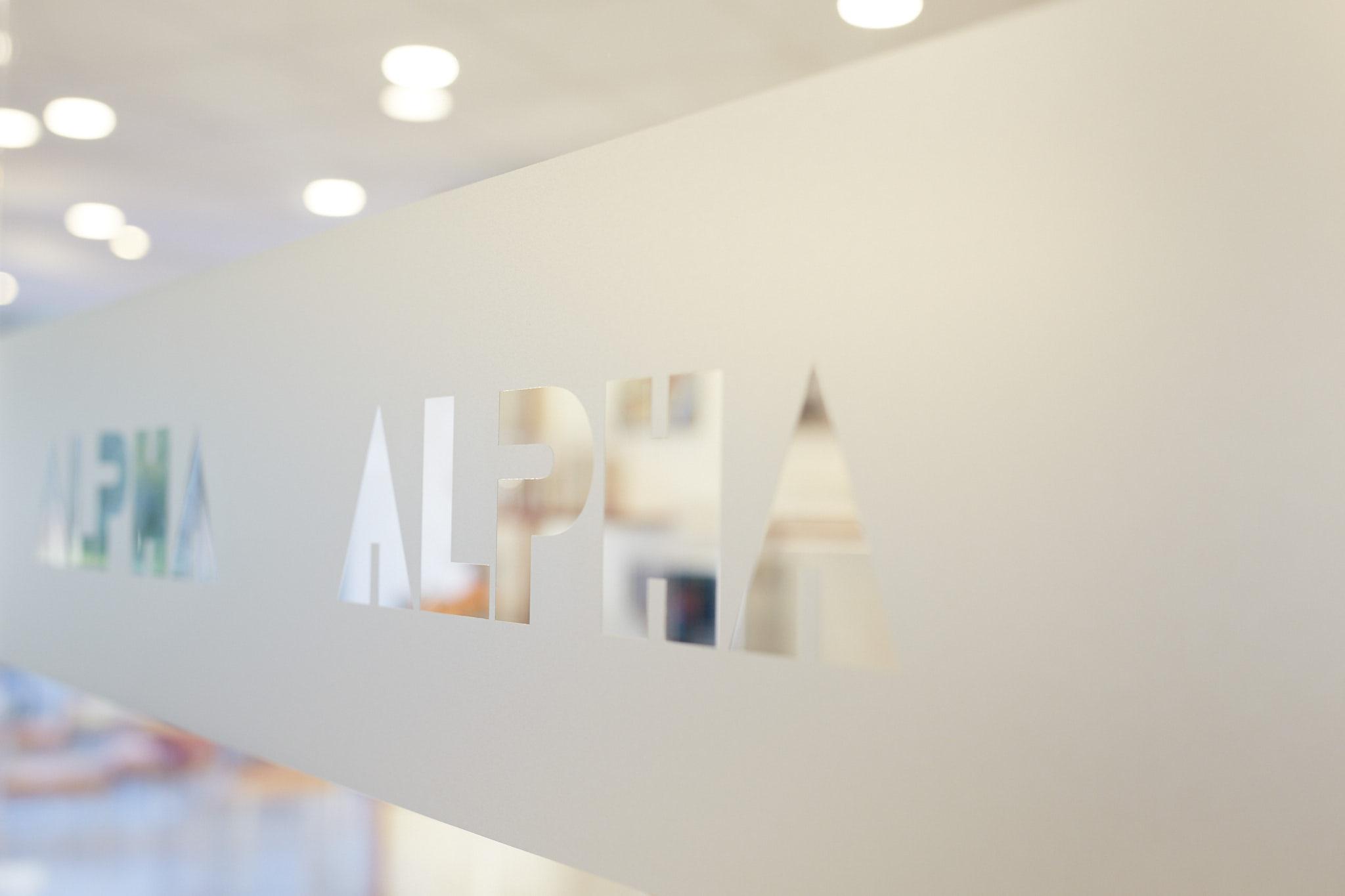Glastür Hotel Alpha